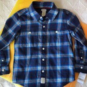 NWT Carter's Long Sleeve Button Down Shirt